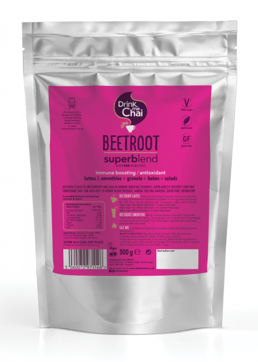Beetroot Superblend (4 x 500g) Reseable Pouch