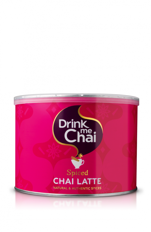 drink me chai spiced chai latte catering tin 1kg